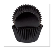CAKECRAFT 700 BLACK FOIL BAKING CUPS  PACK OF 72