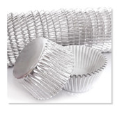 CAKECRAFT  700 SILVER FOIL BAKING CUPS  PACK OF 500