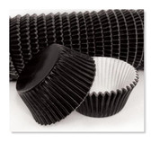 CAKECRAFT 700 BLACK FOIL BAKING CUPS  PACK OF 500