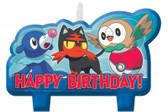 POKEMON BIRTHDAY CANDLE SET