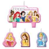 DISNEY PRINCESS DREAM BIG BIRTHDAY CANDLE SET