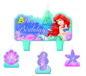 ARIEL BIRTHDAY CANDLE SET