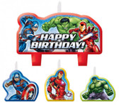 AVENGERS EPIC BIRTHDAY CANDLE SET