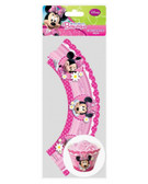 Minnie mouse - CUPCAKE WRAPS (12 PC)