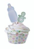 BABY FEET  Cupcake Wraps 'n' Pix