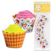 Bakery Crafts Reversible Party Treat Wraps 48pc