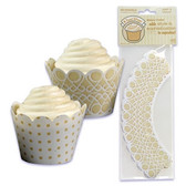 Bakery Crafts Reversible ScrollTreat Wraps 48pc