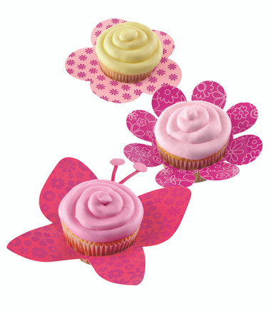 Wilton Cupcake Skirt Blossoms 8PC