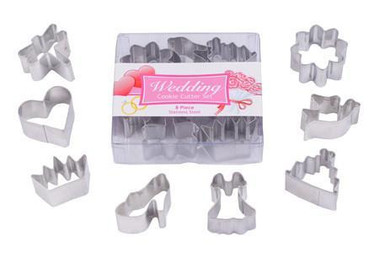 Wedding Boxed Mini Cutter Set 8pce