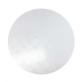 CAKE BOARD | WHITE | 123INCH | ROUND | MDF | 6MM THICK