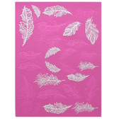 Claire Bowman Cake Lace Mat - Feathers
