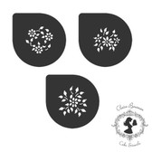 Claire Bowman Cake Stencil Selina Ovals & Circles