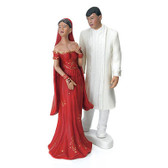 Wedding Star Indian Bride In Traditional Red Sari