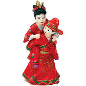 Wedding Star Asian Couple In Traditional Wedding Attire