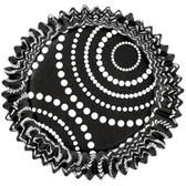 Wilton ColorCups Black Dots 36pc
