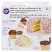 Wilton Beginning Buttercream Decorating Set 20 pc