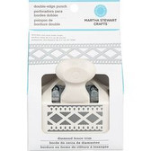 Martha Stewart Crafts Double - Edge Punch Diamond Fence Trim