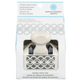 Martha Stewart Crafts Double - Edge Punch Bangle Chain Trim