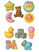 Wilton Candy Mold Baby 2 pack