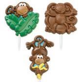 Wilton Lollipop Mold Monkey