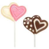 Wilton Lollipop Mold Double Heart
