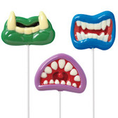 Wilton Lollipop Mold Monster Mouth Fun Face