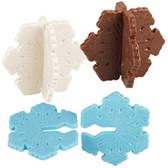 Wilton Candy Mold 3-D Snowflakes