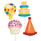 Wilton Lollipop Mold Party