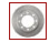 BOSCH QUIETCAST PREMIUM DISC REAR  BRAKE  ROTOR - 16011496