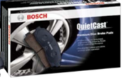 BOSCH QUIETCAST PREMIUM REAR  DISC  BRAKE PADS - BP757