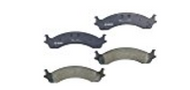 BOSCH QUIETCAST PREMIUM FRONT DISC  BRAKE PADS - BP821
