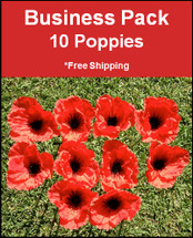 Poppy Park | Official Site | Business Pack | 10 Poppies