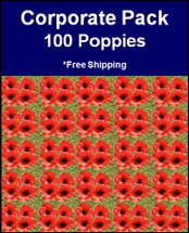 Poppy Park | Official Site | Corporate Pack | 100 Poppies