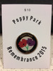 Poppy Park Commemorative Pin