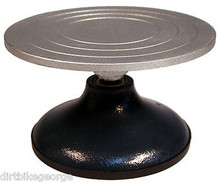 """Sculpting Wheel Turntable - 7"""" Dia Sturdy Metal Top for Sculpture, Decorating"""