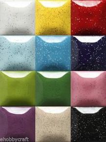 Mayco Speckled Stroke & Coat Wonderglaze for Bisque, Set 2 - Twelve 2 oz Colors