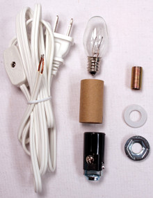 Creative Hobbies® Small Christmas Tree Wiring Kit #ML2-B6, Great For Lighting Small Ceramic Objects