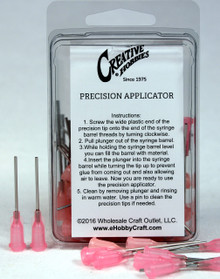 18 Gauge 1.5 Inch, Pink Color, Precision Applicator Dispensing Needle Tips, 50 Pieces