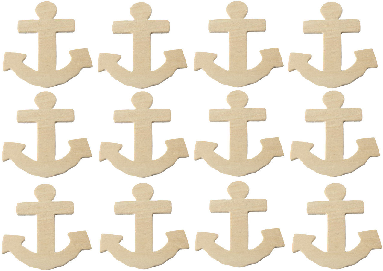 Creative Hobbies Unfinished Wood Seahorse Cutout Shapes Pack of 12 Ready to Paint or Decorate 5 Inch Tall