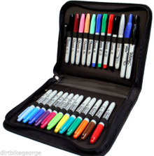 Sharpie Marker 24 Piece Sampler Set With Zippered Sharpie Storage Case