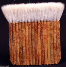 "4 7/8"" Hake Blender Brush For Watercolor, Wash, Ceramic & Pottery Painting"