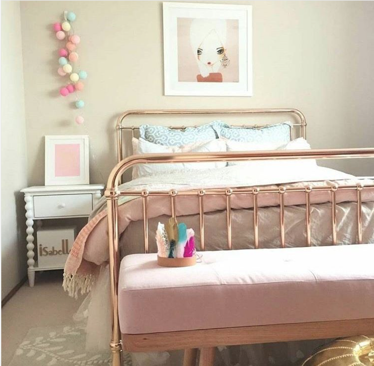 Go For Rose Gold Incy Interiors