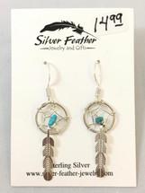 Small Dream Catcher Earrings- 3427