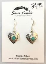 Small Heart Earrings- 3434