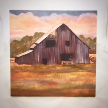 """Prairie Barn"" by Jeanne Rorex Bridges"
