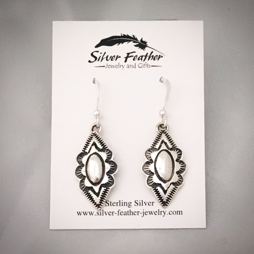 Sterling Silver handcrafted earrings