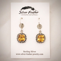 Citrine Earrings ID-001