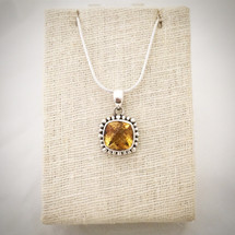 Citrine Necklace ID-002