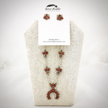 Red Coral Petit Point Set 52-459