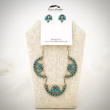 Turquoise Petit Point Set 52-461